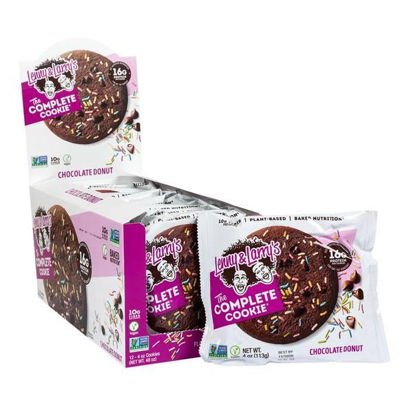 Bilde av Lenny & Larry Protein Cookie, 12x113g, Chocolate Donut