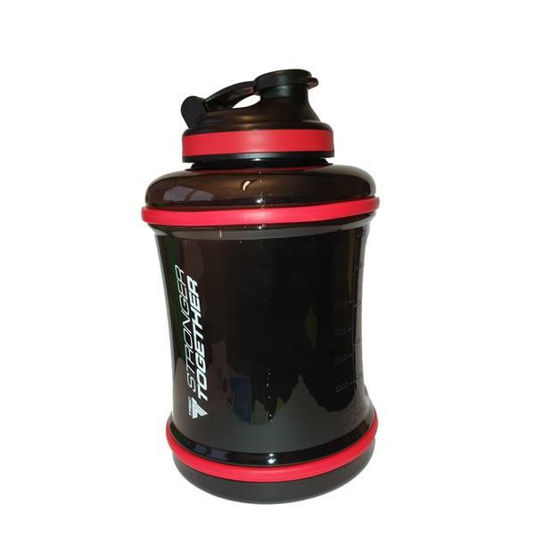 Bilde av Mega Hydrator 01 - Transp. Black/Red 2,5L