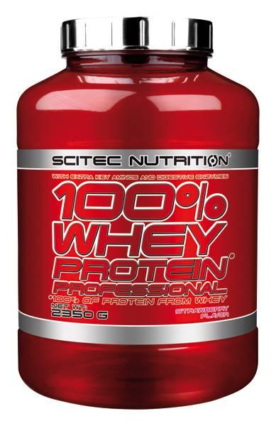 Bilde av 100% Whey Protein Prof. 2350g (rød)