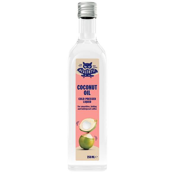 Bilde av Eco Liquid Coconut Oil, coldpressed, 6x250ml