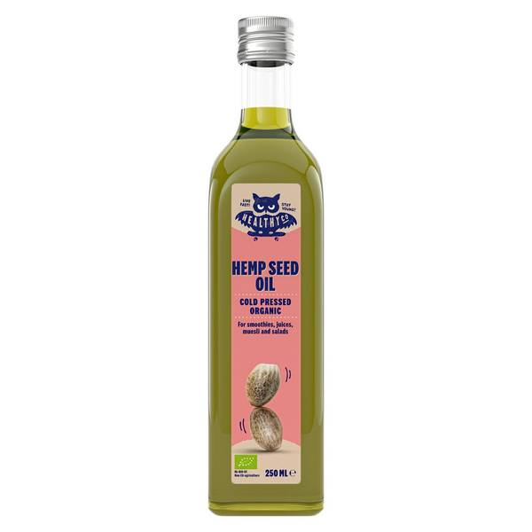 Bilde av Eco Hempseed Oil, coldpressed, 6x250ml