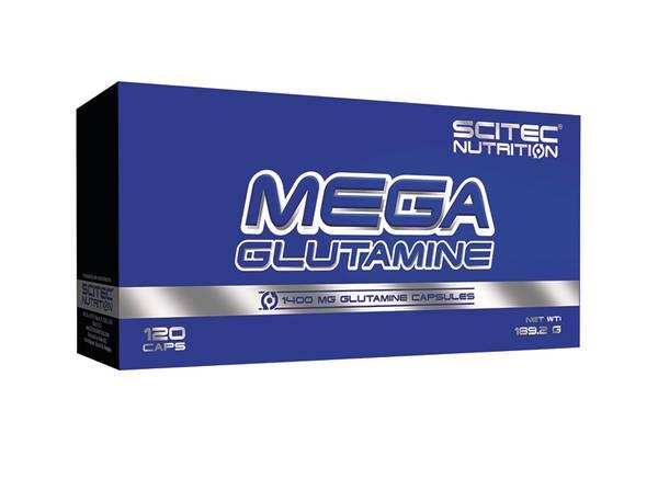 Bilde av Mega Glutamine - 120 kaps
