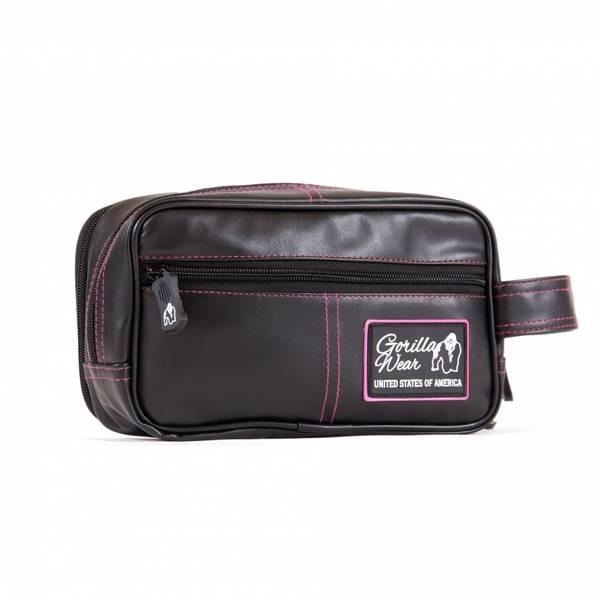 Bilde av Toiletry Bag - Black/Pink