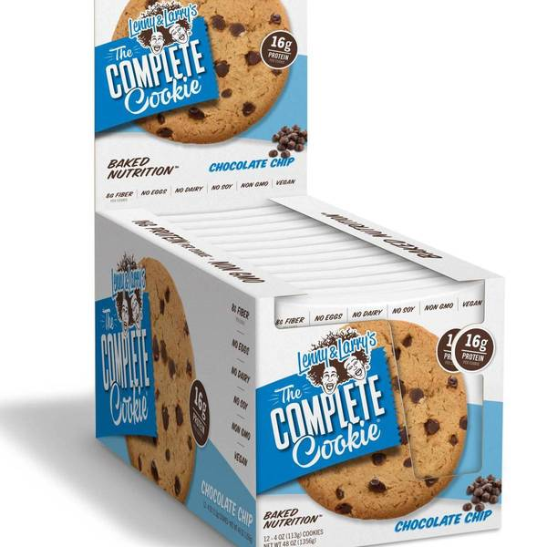 Bilde av Lenny & Larry Protein Cookie, 12x113g, Peanut Butter Chocolate C