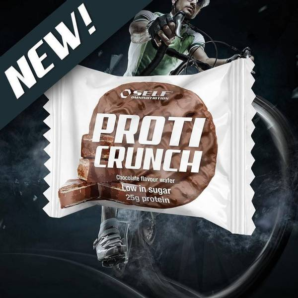 Bilde av Proti Crunch - 60g x12stk, Chocolate Wafer