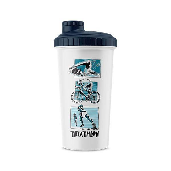 Bilde av Shaker 047 0,7L White #Triathlon