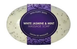 Bilde av White jasmine & mint massage soap