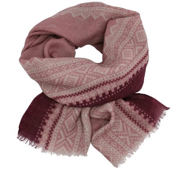 Image of Wool scarf Marius® pattern© light