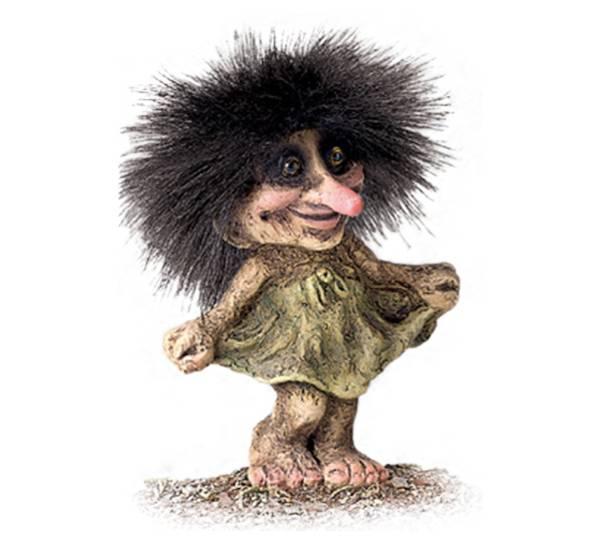 Image of Dancing Girl (Troll # 030)