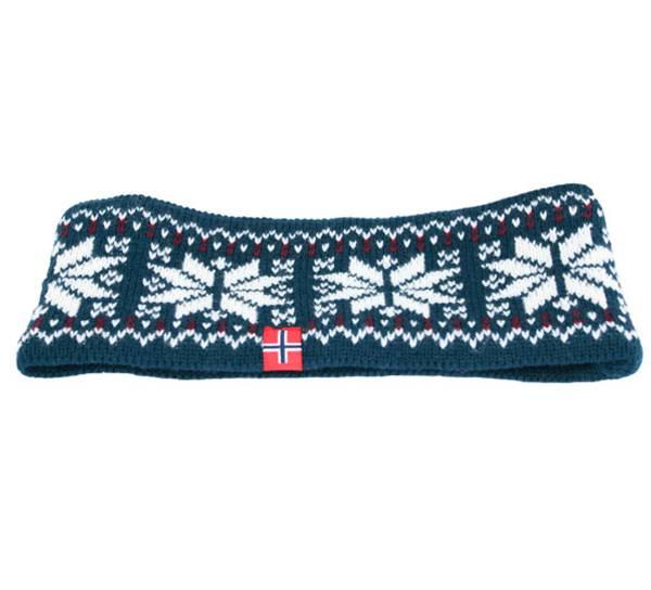 Image of Headband knittet stars navy/white