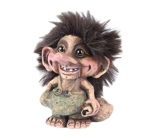 Image of Troll with a bag (Troll # 061)