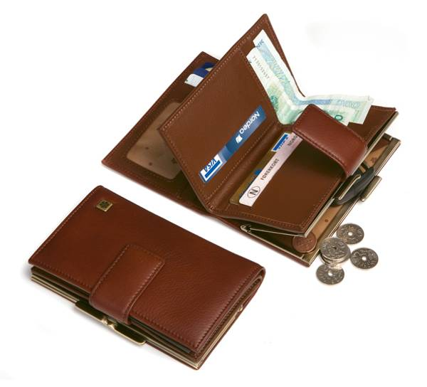 Image of Wallet, lady with frame, mod. 'Vikersund', Jopo