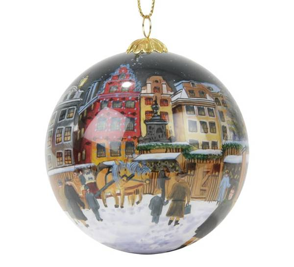 Image of Glass ball,Stockholm,Gamle Stan, 'Bergerlind'