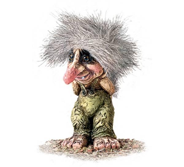 Image of Troll old man (Troll # 032)