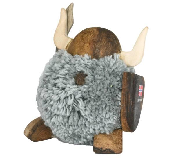 Image of Pompom viking , grey