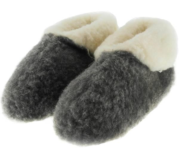 Image of Jopo wool slippers, 100% merino wool