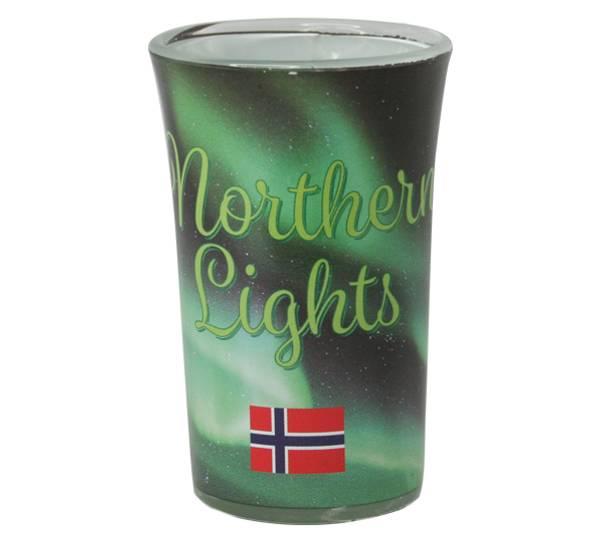 Image of Northern lights shotglas