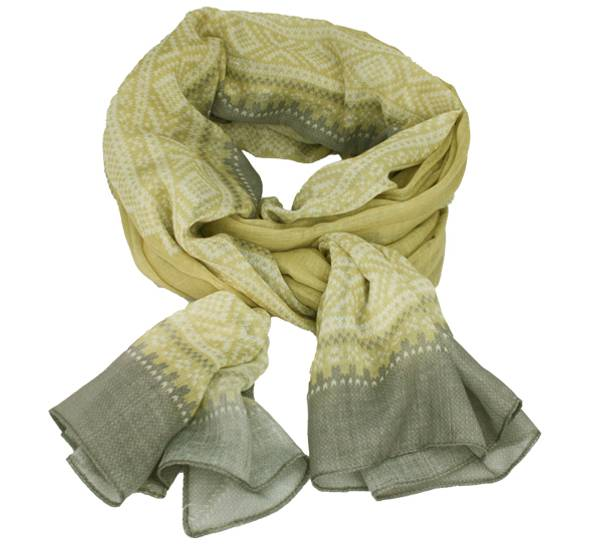Image of Marius® scarf, light grey/light green