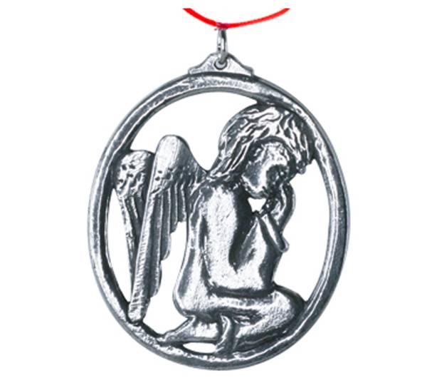 Image of Ornament, Angel praying Tinn-Per