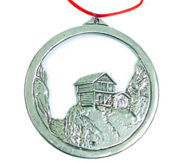 Image of Ornament, Stabbur, small Tinn-Per