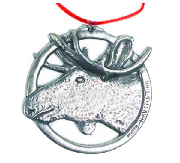 Image of Ornament, Moose Tinn-Per