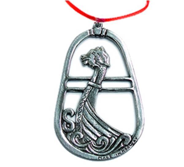 Image of Ornament, Viking ship Tinn-Per