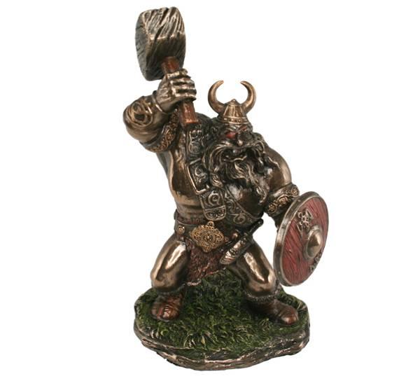 Image of Viking varior w/hammer