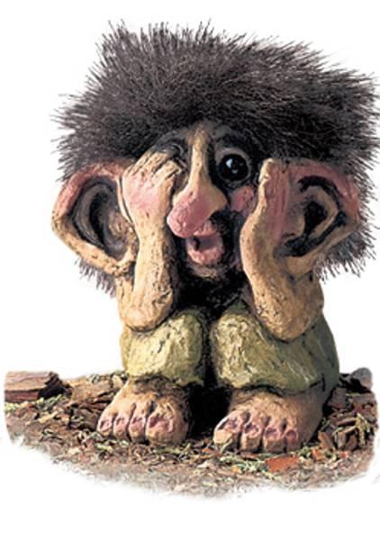 Image of Troll, apprehensive (Troll # 177)