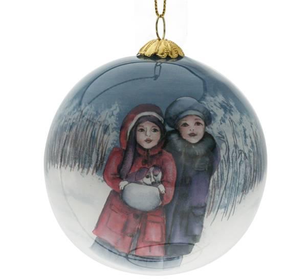 Image of Glass ball, nostalgia 'G. Solemsløkk'