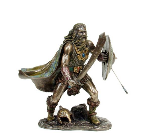 Image of Viking warrior with shield and sword