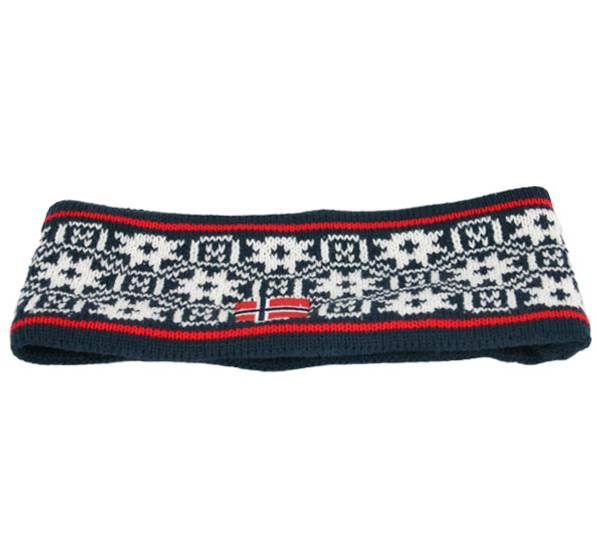 Image of Headband with little roses navy