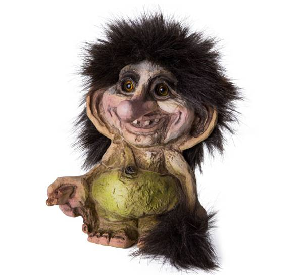 Image of Troll with a stick (Troll # 191)