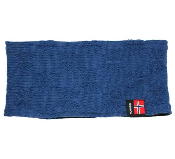 Image of Headband with purl stitch rose blue