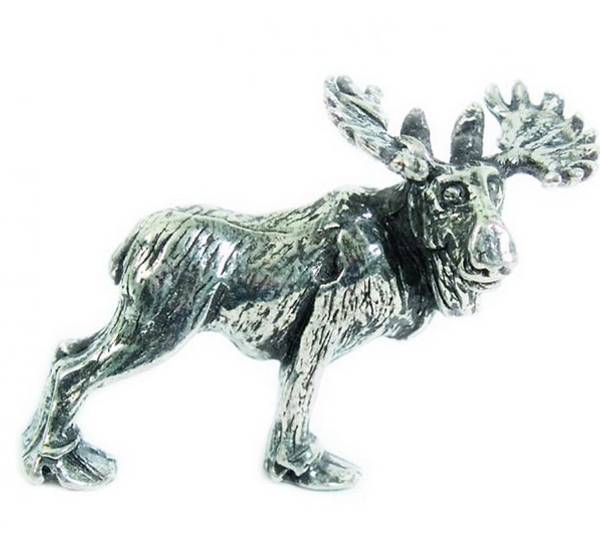 Image of Figurine, Moose Tinn-Per