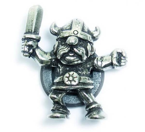 Image of Magnet, Viking with sword Tinn-Per
