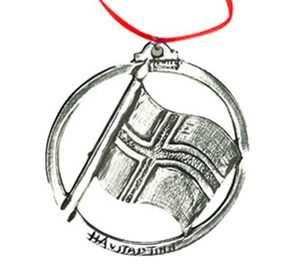 Image of Ornament, Norway Flag, Tinn-Per