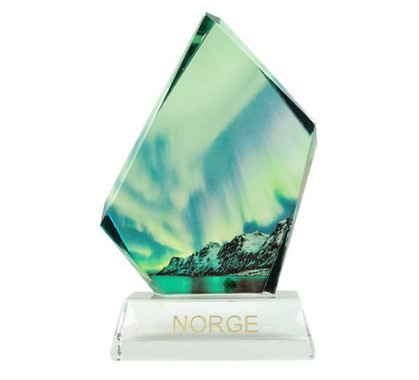 Image of Northern lights glass block