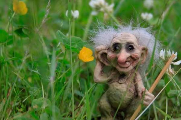 Image of Troll great-grandfather (Troll # 040)