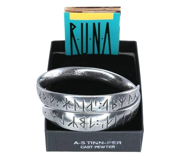 Image of Bracelet, runic writing Tinn-Per