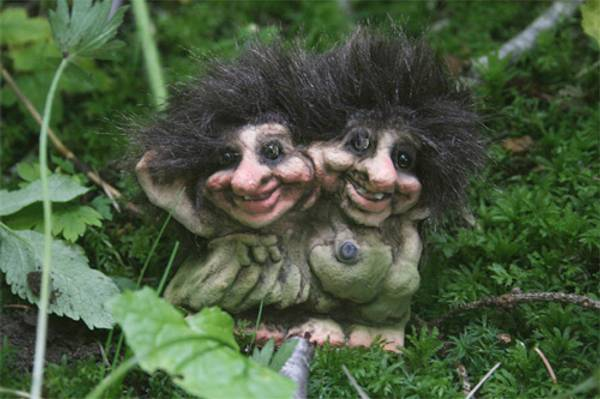 Image of Troll twins (Troll # 020)