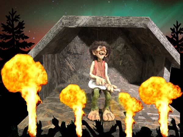 Image of Troll  rock musician (Troll # 305)