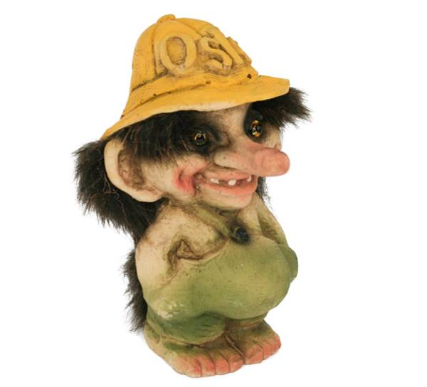 Image of Troll, small boy with hat (Troll # 215)