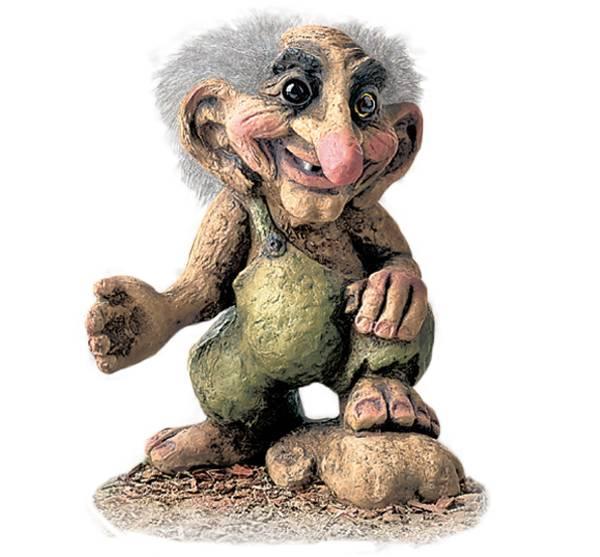 Image of Troll, Grandfather (Troll # 256)
