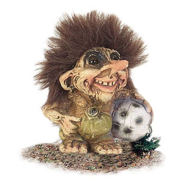 Image of Boy with ball (Troll # 014)