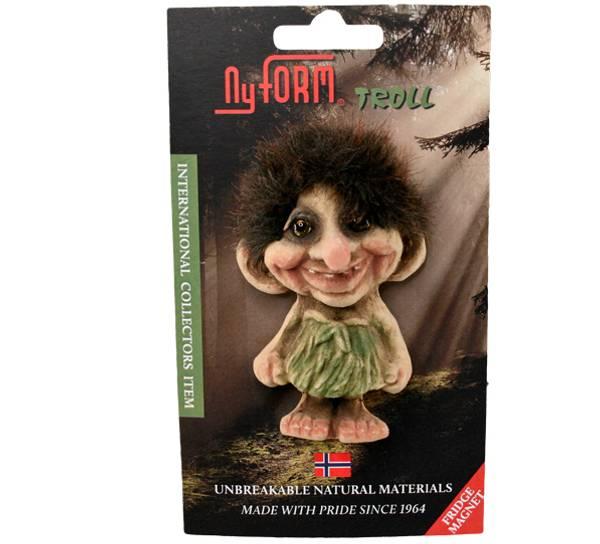 Image of Magnet, troll girl, small (Magnet # 2001)