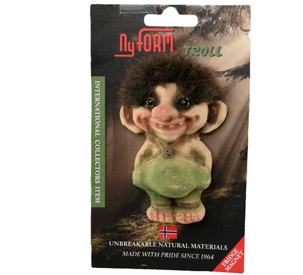 Image of Magnet, Troll boy, small (Magnet # 2002)