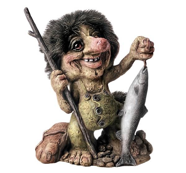 Image of Troll, fishing (Troll # 284)