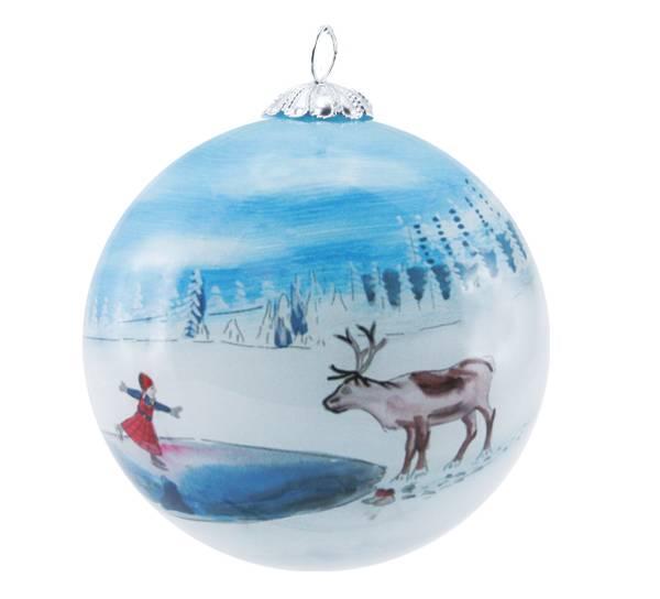 Image of Glass ball, Anja Skaiting, 'Juledrømmen'