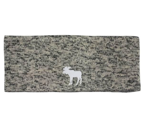 Image of Headband melange with reflective moose print