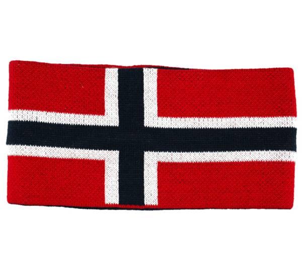 Image of Headband knitted flag  red/white/dark blue